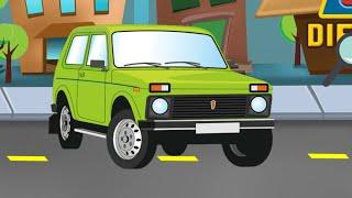 Russian Cars Differences · Game · Gameplay