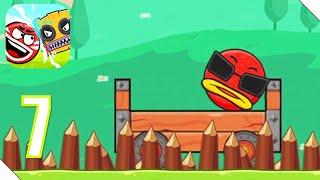 Red Ball 6 (Ball Hero) Прохождение Часть 7 | Андроид/iOS Геймплей