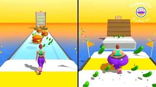 Fat 2 Fit Gameplay! Mobile Gameplay Walkthrough - 2 (gameplay iOS, Android) #shorts