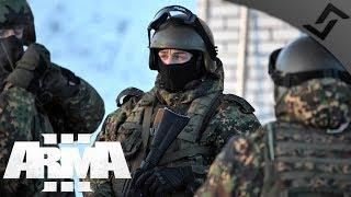 Russian Spetsnaz City Infiltration - ArmA 3 Zeus Gameplay