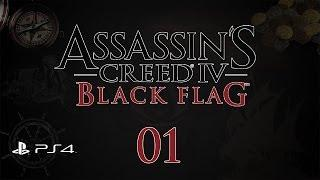 Assassin's Creed 4: Black Flag (PS4) - Прохождение pt1 (100%)