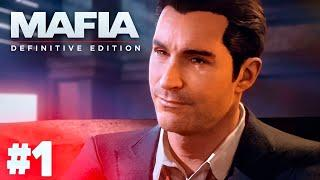 MAFIA DEFINITIVE EDITION НА РУССКОМ | ПРОХОЖДЕНИЯ MAFIA DEFINITIVE EDITION ► СТРИМ 1 ЧАСТЬ