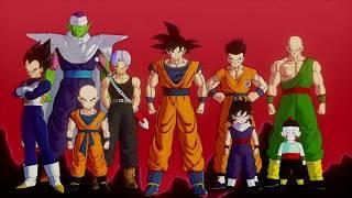 Dragon Ball Z Kakarot Trailer with Dragon Ball GT's opening