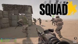 Squad Gameplay | Russian Army battling US Army (No Commentary)