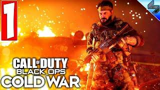 ПРОХОЖДЕНИЕ CALL OF DUTY BLACK OPS COLD WAR ➤ Часть 1 ➤ Холодная Война На Русском ➤ Обзор на ПК