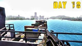 Miscreated Gameplay : Day 18 ( Docks and Russian Clan Encounter )