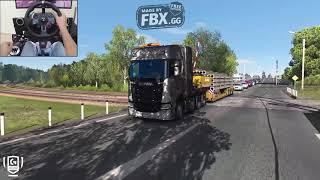 Scania S730 - A Russian Job - Euro Truck Simulator 2 - Logitech g29 gameplay - YouTube