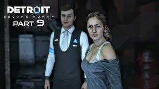 Detroit Become Human Walkthrough Part 9 - RUSSIAN ROULETTE | PS4 Pro Gameplay