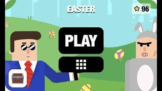 Mr Bullet New Season Easter Gameplay Walkthrough All Levels (1-32) All Stars