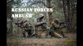 Russian Forces[PH] ambush US Soldiers - Squad Gameplay