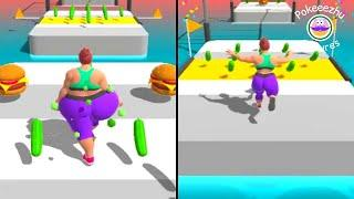 Fat 2 Fit Gameplay! Mobile Gameplay Walkthrough - 6 (gameplay iOS, Android) #shorts