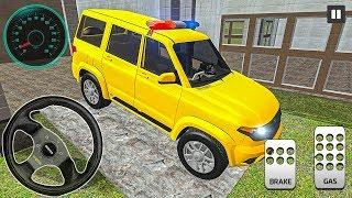 Offroad Russian Jeep Patriot Drive - 4x4 SUV Police Patrol - Android Gameplay