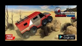 8 Wheeler Russian Truck 3D Simulator Game - HD Gameplay Android