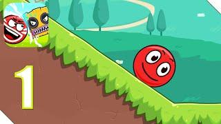 Red Ball 6 (Ball Hero) Прохождение Часть 1 | Андроид/iOS Геймплей